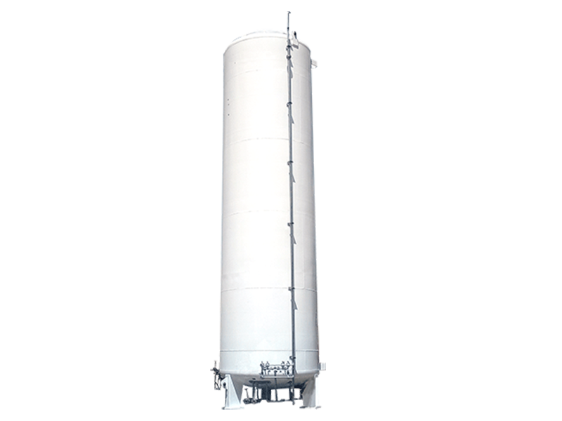 Vertical Cryogenic Tanks for Liquid Natural Gas